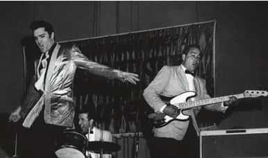 Bill Black bajista de Elvis presley