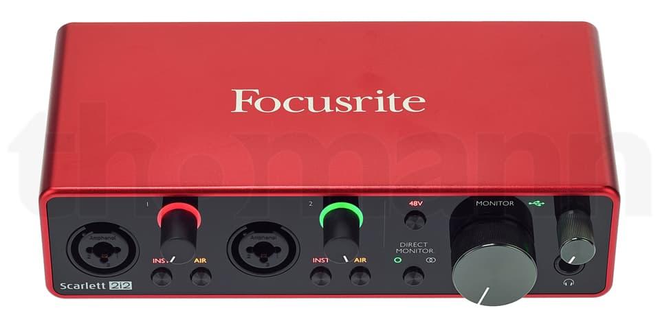 Focusrite Scarlett 2i2 3rd Gen