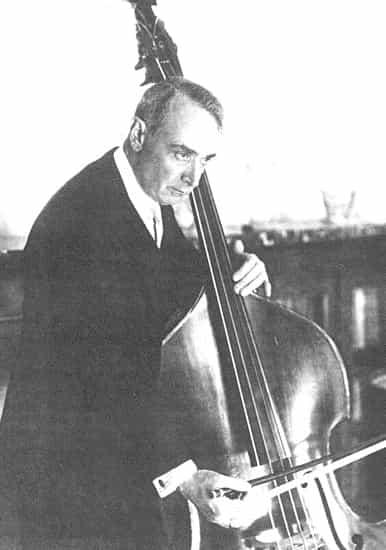 Serge Koussevitzky precursor del contrabajo instrumento solista