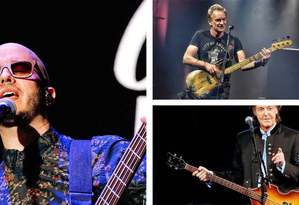 Bajistas cantantes famosos