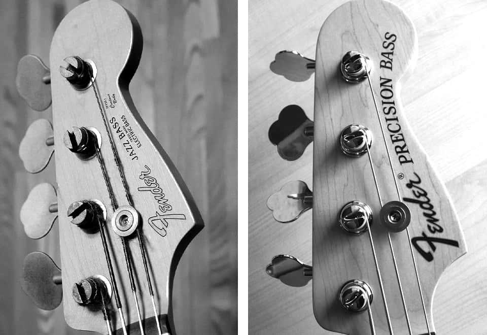 Jazz y Precision bass