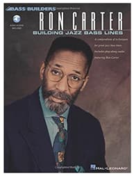 Libro de Ron Carter para bajistas de Jazz