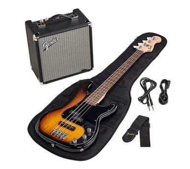 Pack Bajo eléctrico Fender Squier