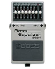 Pedal Ecualizador para bajo eléctrico